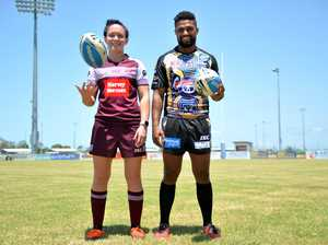 NRL Women's superstar Brittany Breayley and Mackay