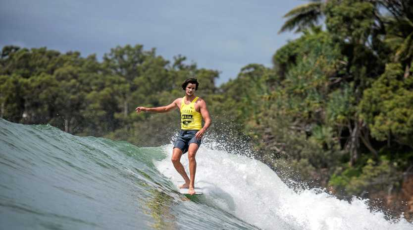 TOP GONG: Noosa's Zye Norris won the 2018 Logger Pro.