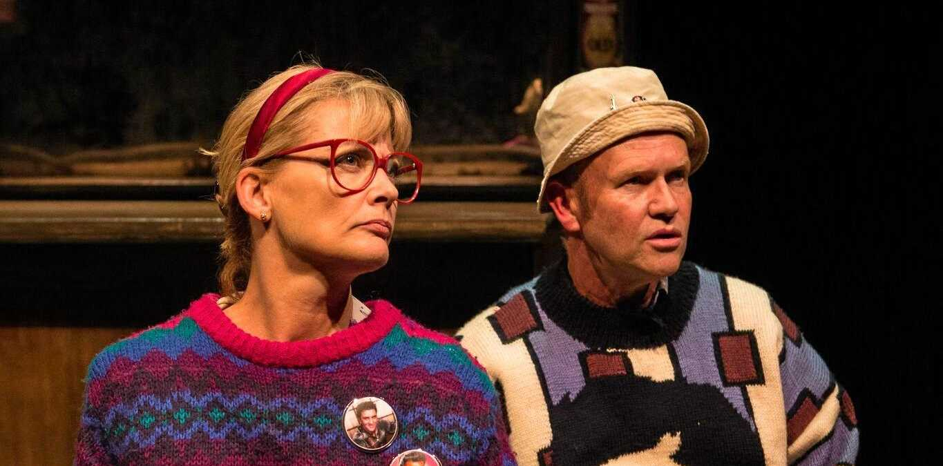 Kate Raison and Brian Meegan in TWO.