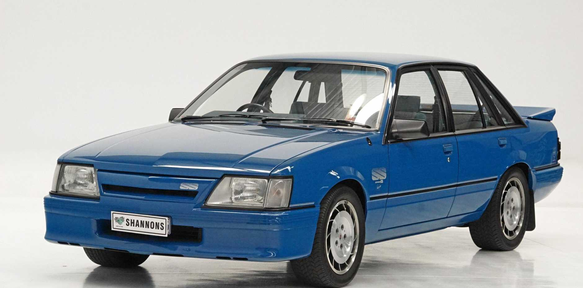 This stunning, time warp and low kilometre 1985 HDT VK SS Group A Commodore 'Blue Meanie' was the top selling vehicle of Shannons February 18 Melbourne Summer Auction, bringing $165,000.