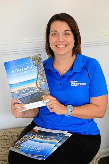 Capricorn Enterprise's Krista Brown with the latest Southern Great Barrier Reef holiday guide