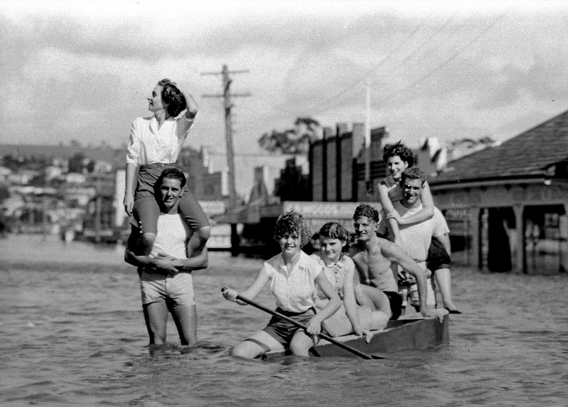 1954 flood Lismore.