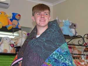 Teenage sewing star proves he's the 'reel' deal