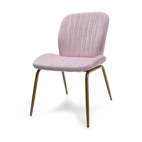 Timeless Lilac Velvet Occasional Chair - $49