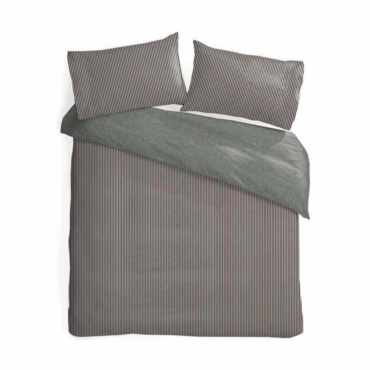 Natural Aspen QB Reversible Quilt Cover Set - $18