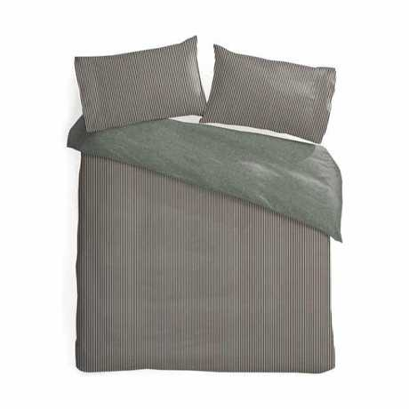 Natural Aspen QB Reversible Quilt Cover Set - $18