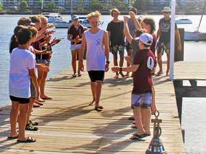 James takes top sailing honour