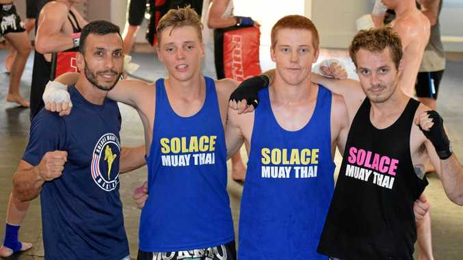 Finding solace in Ballina Muay Thai