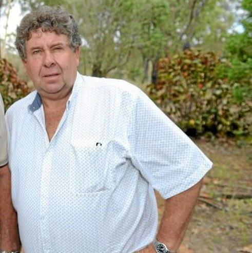 CONCERNED RESIDENT: Layne Perkins has been vocal in his opposition to the sale of the Mount Chalmers School buildings.