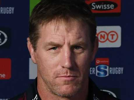 Reds coach Brad Thorn has ensured his team has been working on their tackling technique. Picture: AAP