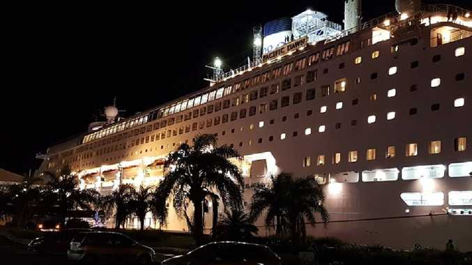 The report suggests addressing the shortfall in part by using cruise liners as floating hotels.