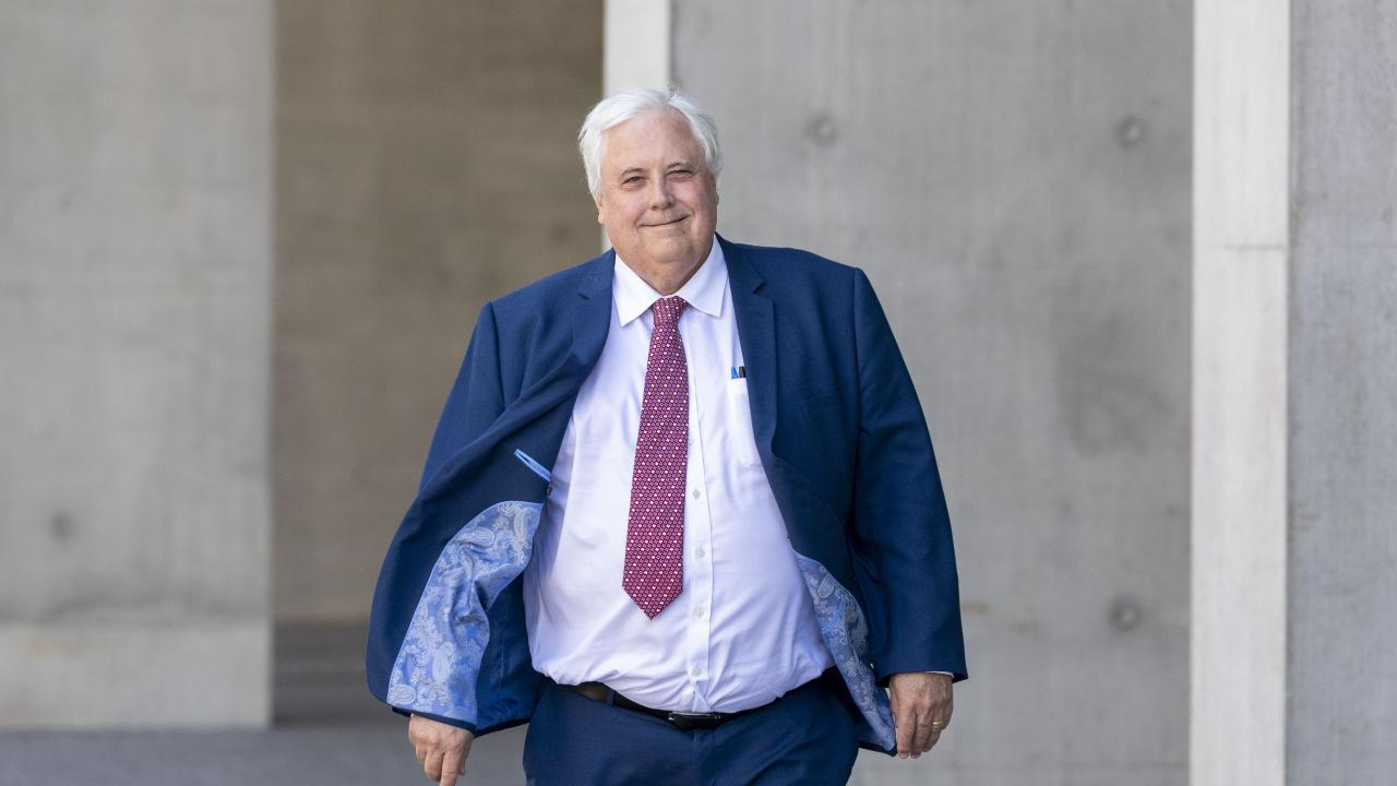 Businessman Clive Palmer