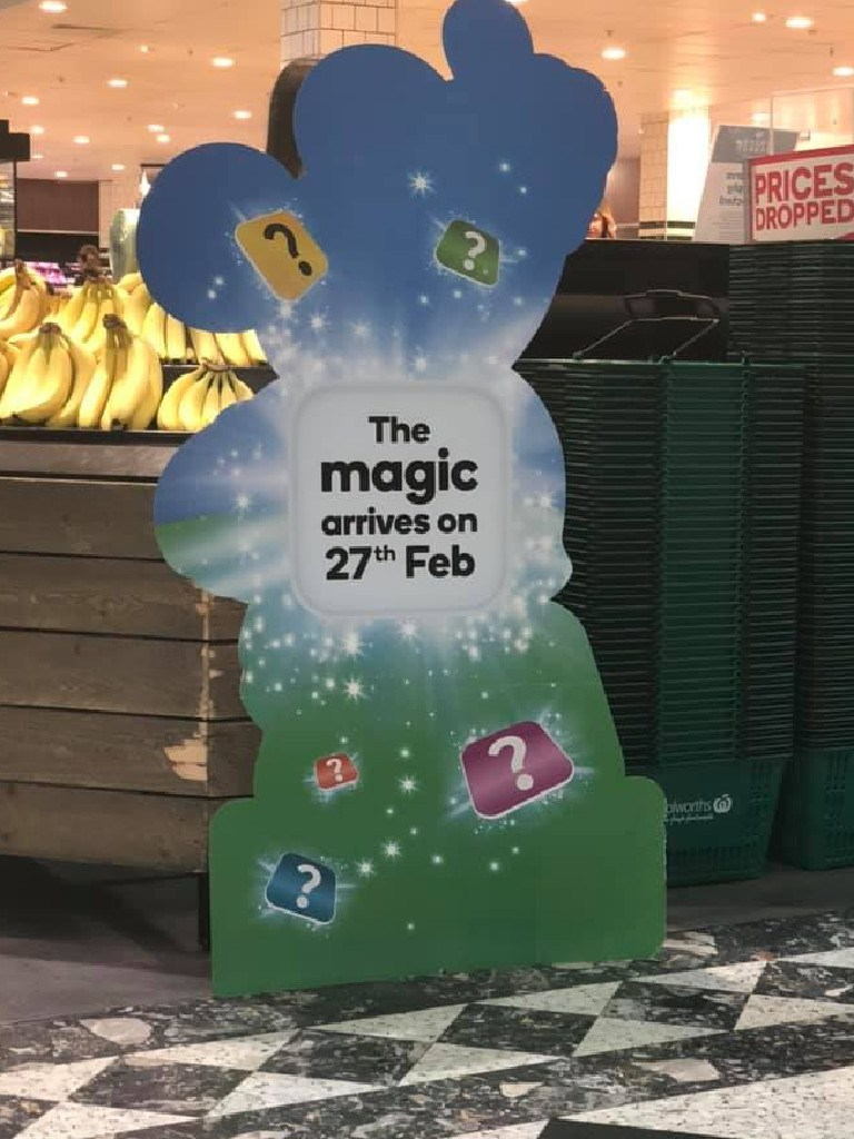 A Disney-themed program is believed to be coming to stores near you. Picture: Facebook
