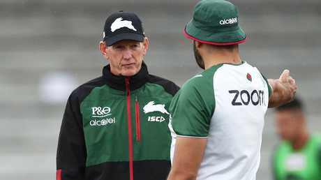 GI has done it all but Wayne Bennett had him on the back foot. (Matt King/Getty Images)