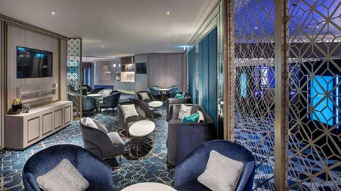 The Oasis VIP gaming area at The Star Gold Coast. Photo: Supplied