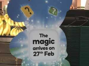 Frenzy over Woolies' Disney secret