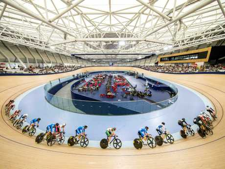 A study based on new IOC guidelines says 25 of the 40 sports venues required already exist – such as Anna Meares Velodrome at Chandler (above) – and could be used as they are or with some upgrades. Picture: AAP Image/Richard Walker