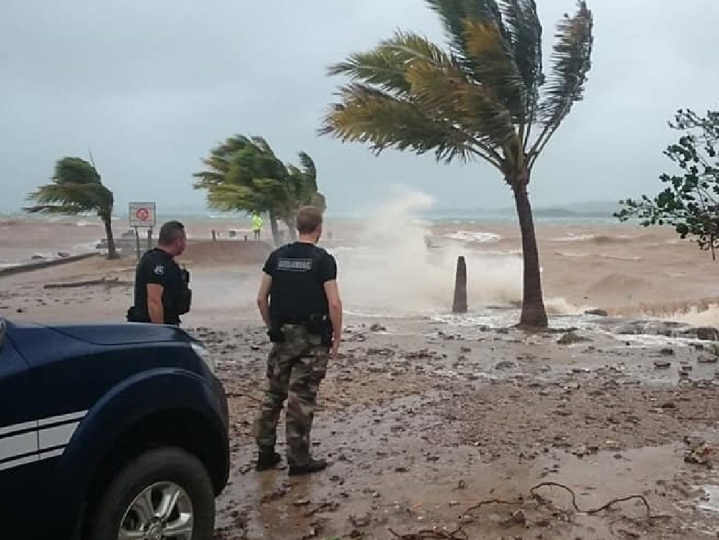 Images of New Caledonia during and after Cyclone Oma. Picture: Gendarmerie de Nouvelle-Calédonie