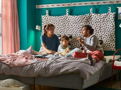 IKEA is expanding its sleepover program across Australia. Picture: Supplied