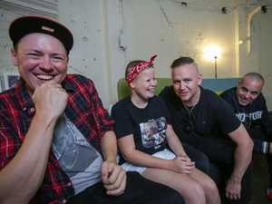 Hilltop Hoods put cancer kids on stage