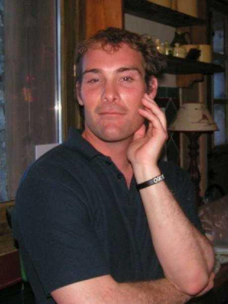 Shark attack victim Sam Edwardes.