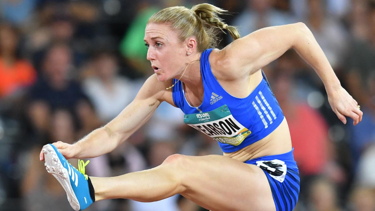 Sally Pearson will compete in an inter-club meet in Brisbane. Picture: AAP