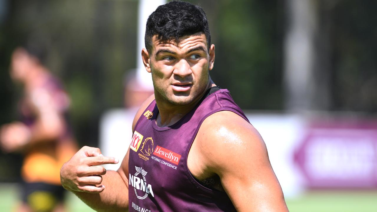 David Fifita is part of the Broncos' enviable young squad. (AAP image, John Gass)