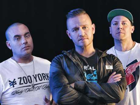 The Hilltop Hoods. Picture: Supplied