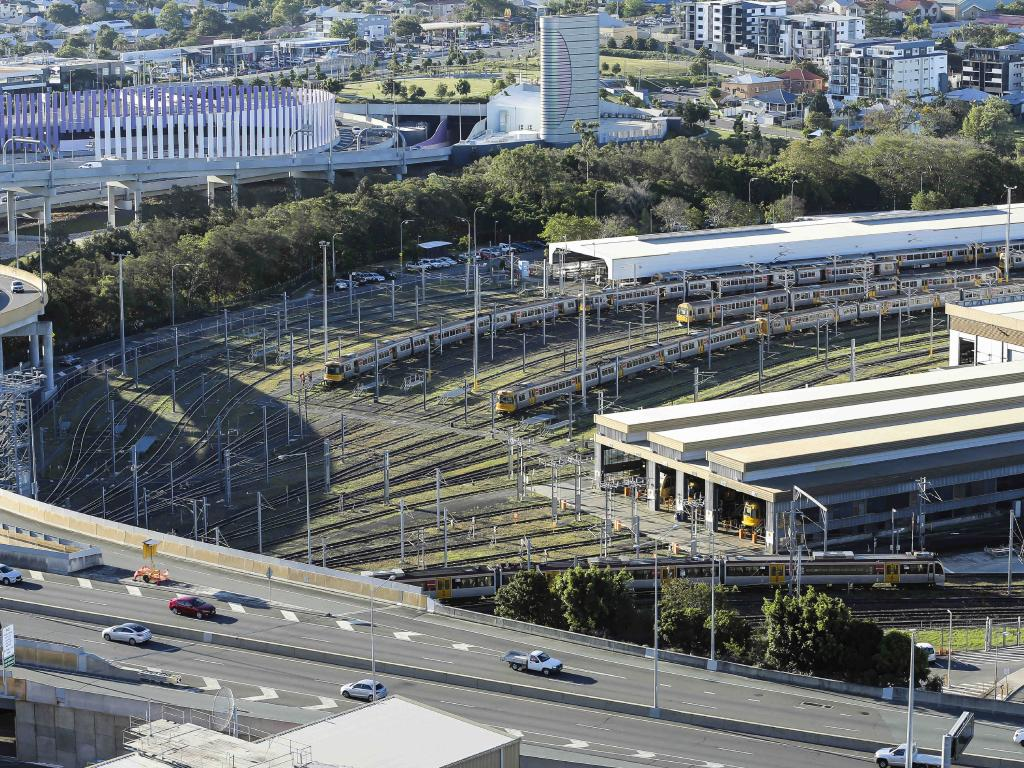 The rail yards offer a central location with plenty of public transport options.