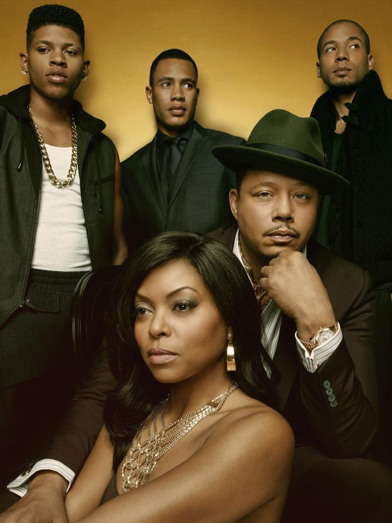 Pictured clockwise from left: Bryshere Gray, Trai Byers, Jussie Smollett, Terrence Howard and Taraji P. Henson. Picture: Fox