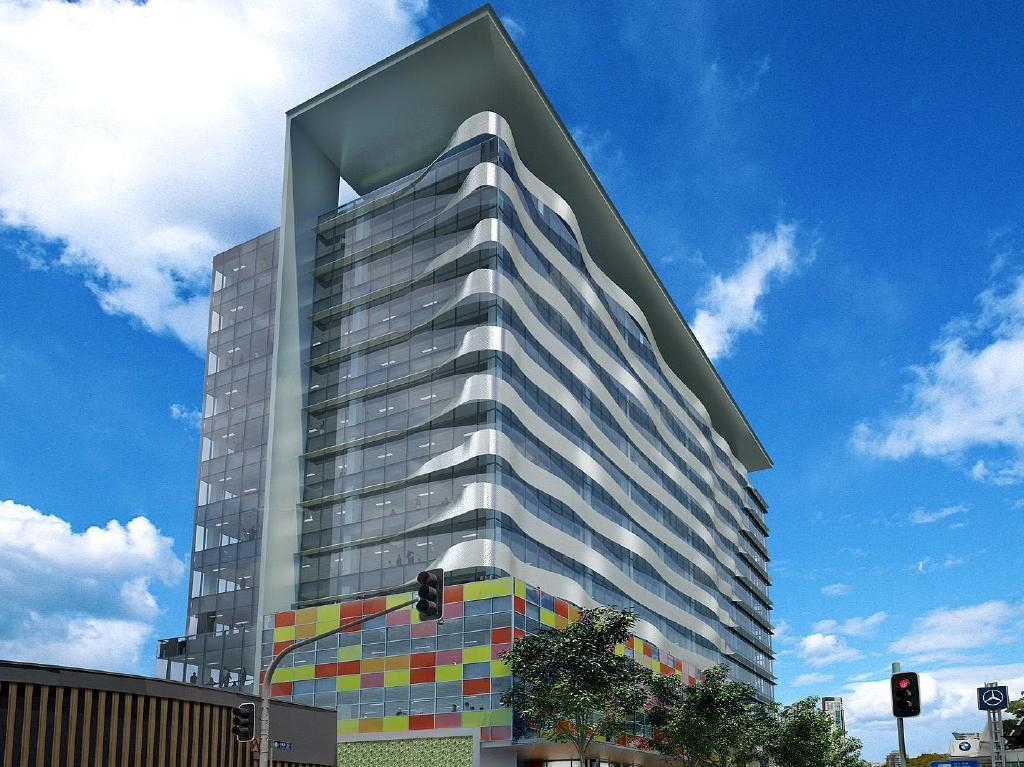 Artists Impression of Laing O'Rourke's proposed building for Ann Street, Fortitude Valley. Supplied by Rowland PR