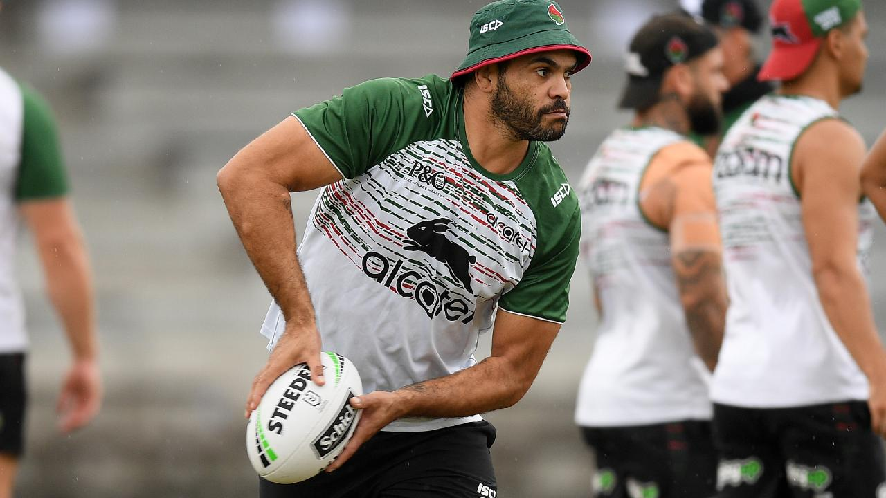 The Rabbitohs legend wants to make the most of his final years. (AAP Image/Dan Himbrechts)