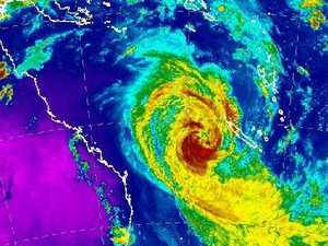 Cyclone Oma changes course again