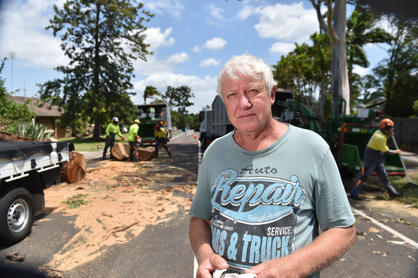 A tree that fell down at Mountain Creek could have killed someone, resident Wes Houk commented on.