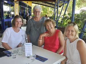 Sue Hower, Gillian Wight, Kaye Wilson and Michelle