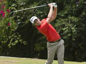 Doug Klein playing in the Queensland PGA Championship
