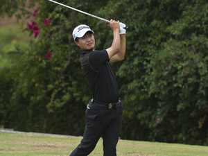 Chang Gi Lee playing in the Queensland PGA