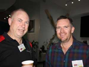 Glen Palmer of Core Business Accountants and Ashley