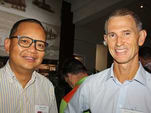 Calvin Kong of Pacific Law and John Gallagher of