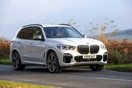 The range-topping BMW X5 M50d.