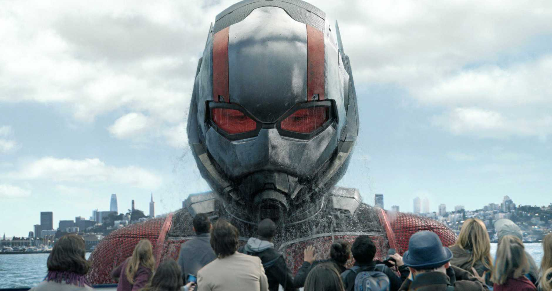 Paul Rudd in a scene from the movie Ant-Man and The Wasp. Supplied by Marvel.