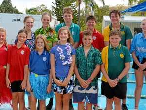 Burnett State College 2019 swim carnival