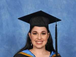 Graduate awarded university medal