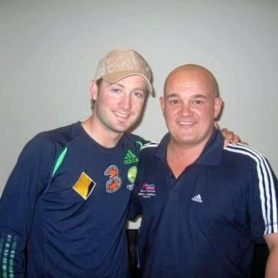 Australian cricketing legend Michael Clark was one of Philip Rule's clients.