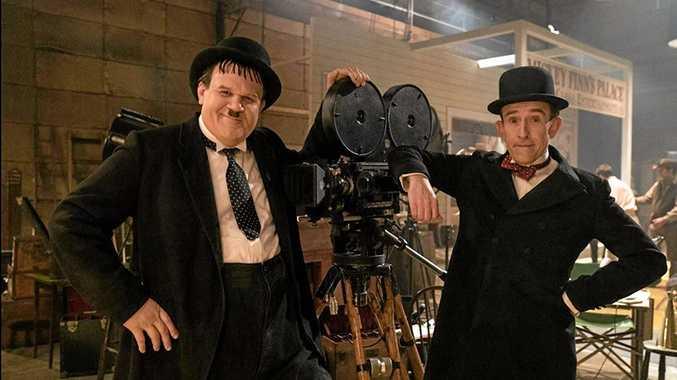 John C. Reilly and Steve Coogan in  Stan & Ollie .