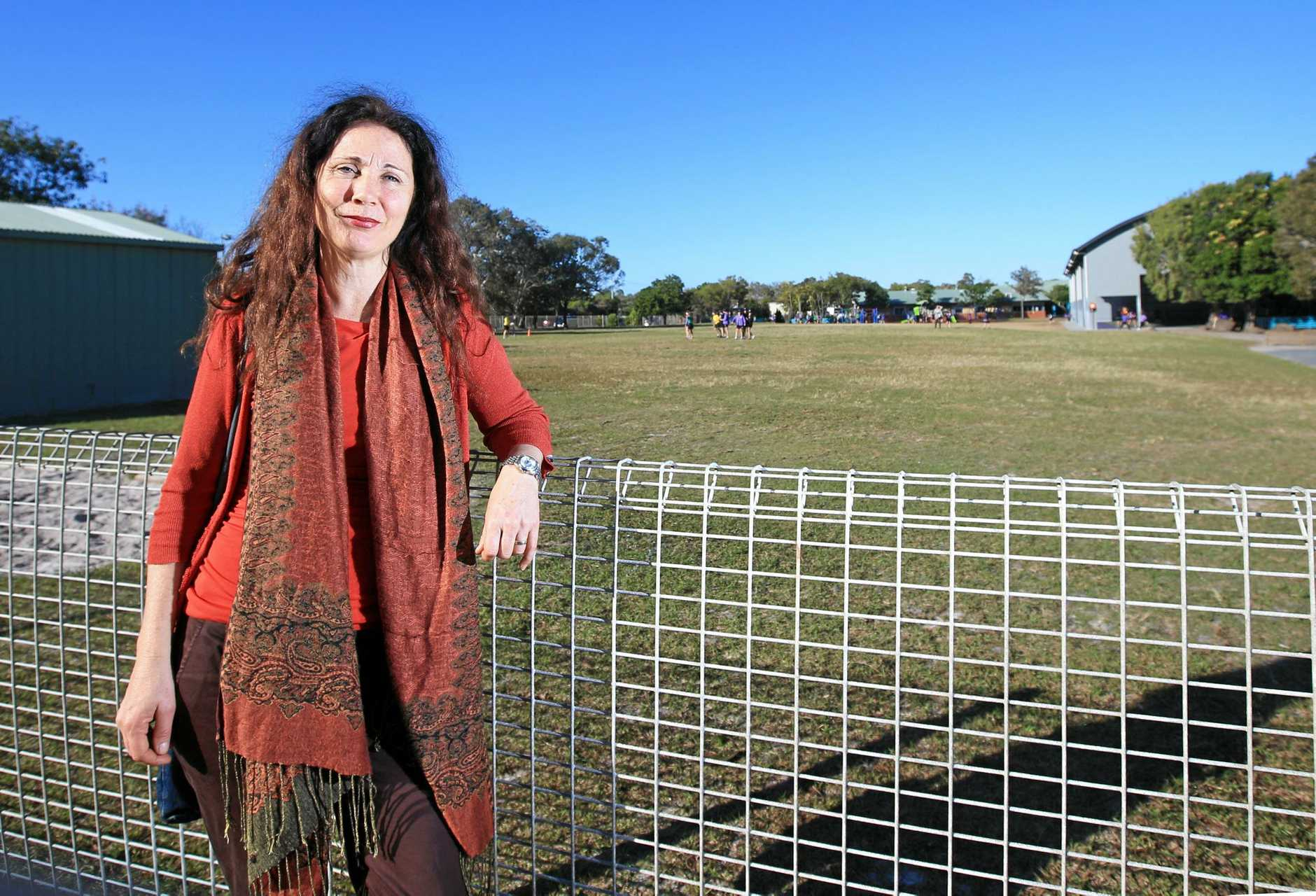 SCHOOL WANTED: Tweed Shire Council Deputy Mayor Chris Cherry says the Seabreeze estate should remain as an earmarked location for a future Pottsville high school.