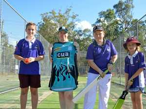 Cricket club gifted $1000 of gear from stranger