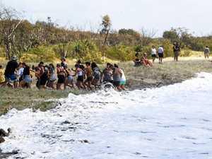 Cyclone Oma wreaks havoc on Rainbow Beach
