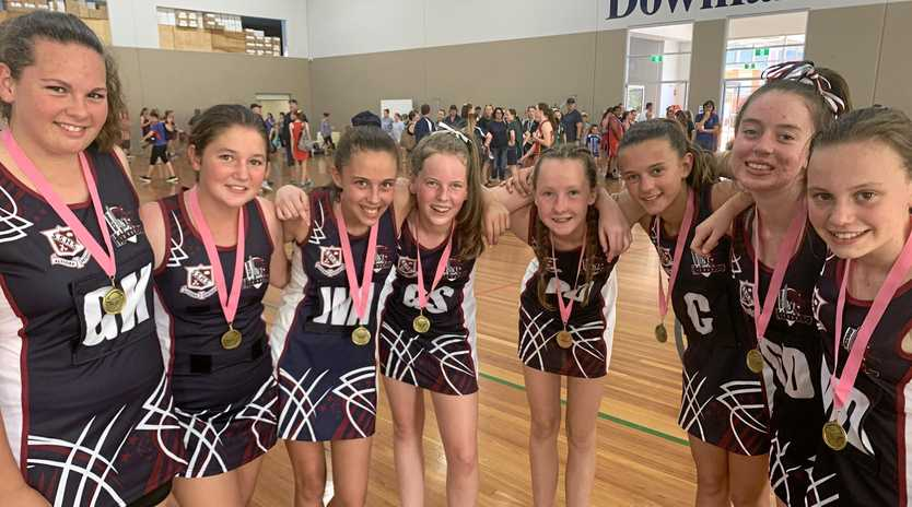 ALL SMILES: The winning team at the annual Laura Geitz Netball competition in Toowoomba.
