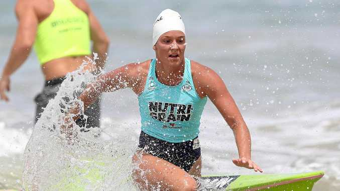 GAME ON: Former Kawana nipper and Mooloolaba talent Maddy Dunn is on the cusp of an ironwoman title.